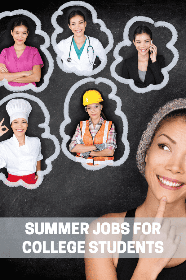 summer jobs for college students