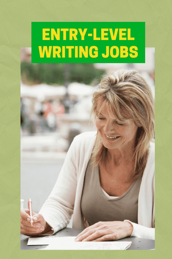 entry level content writing jobs