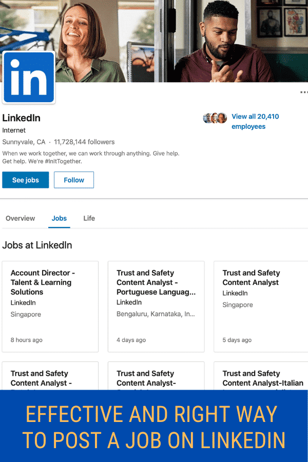 How To Post A Job On LinkedIn