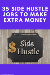 side hustle jobs