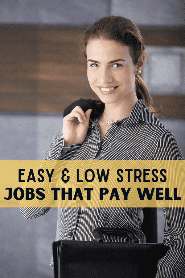 low stress jobs