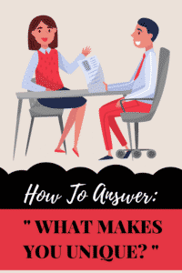 how to answer what makes you unique