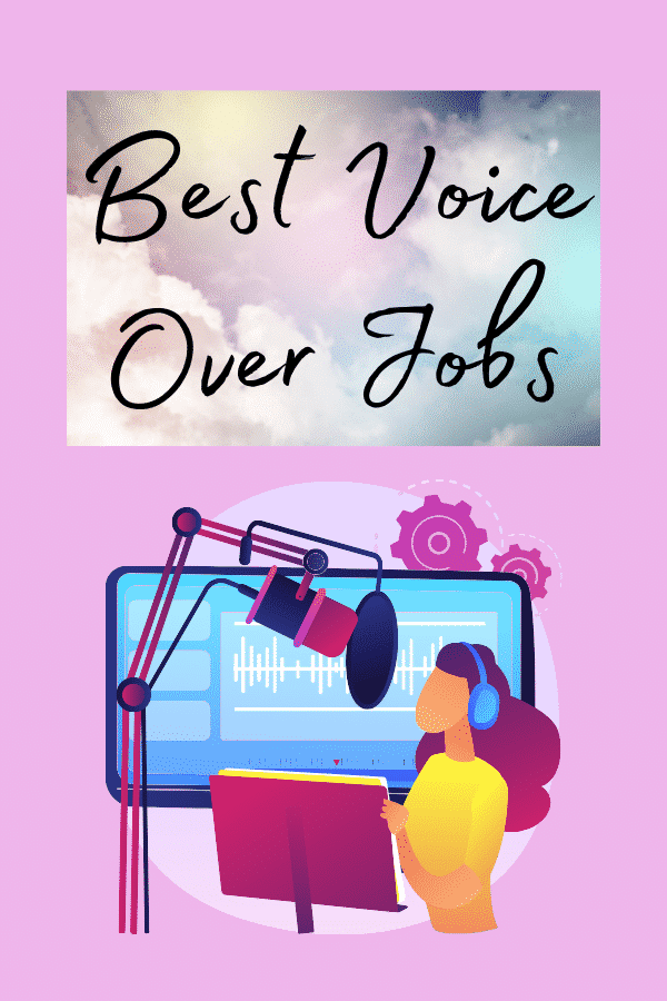 voice over jobs for beginners from home