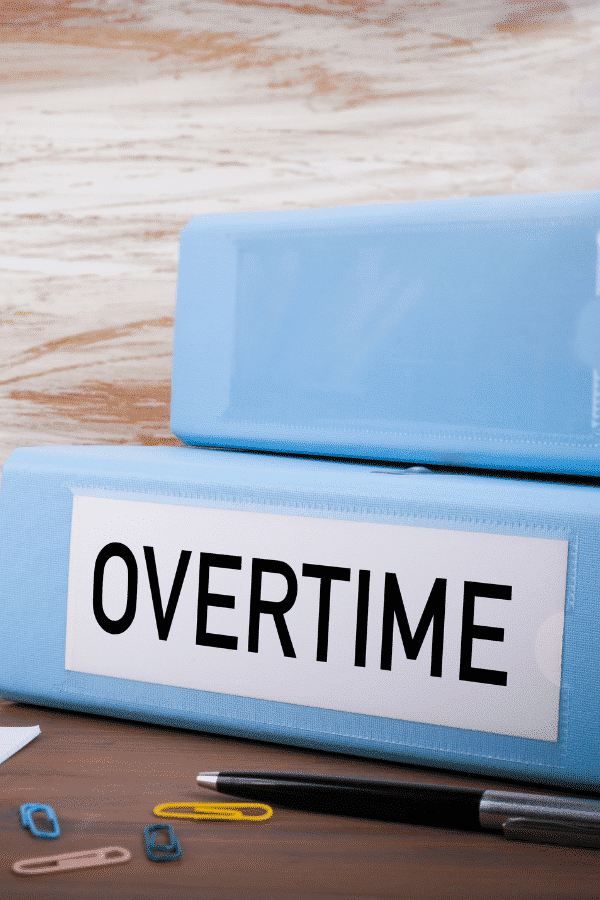 how to calculate overtime rate